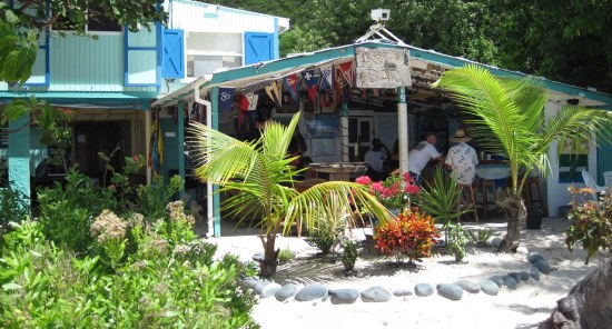 Soggy Dollar Bar, Jost van Dyke
